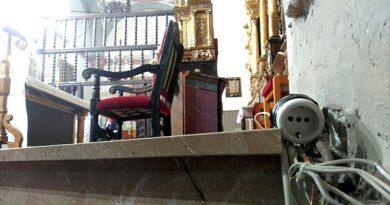 Campaña de renovación de la instalación eléctrica de la iglesia